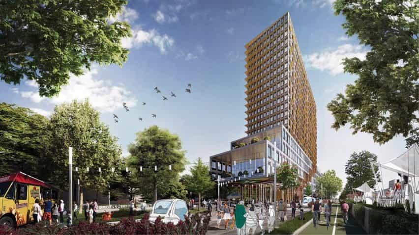 La entrada ganadora de Montreal para el concurso Reinventing cities