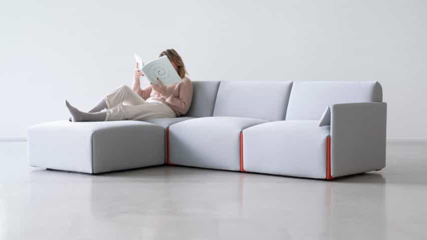 Sofá modular de Stefan Diez para Magis