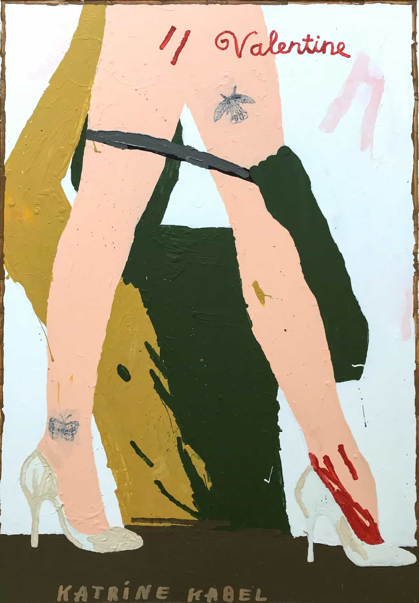 """""""Estoy feliz de que lo tengo"""": Katrine Kabel explora su reciente diagnóstico de síndrome de Asperger en sus hermosas pinturas"""