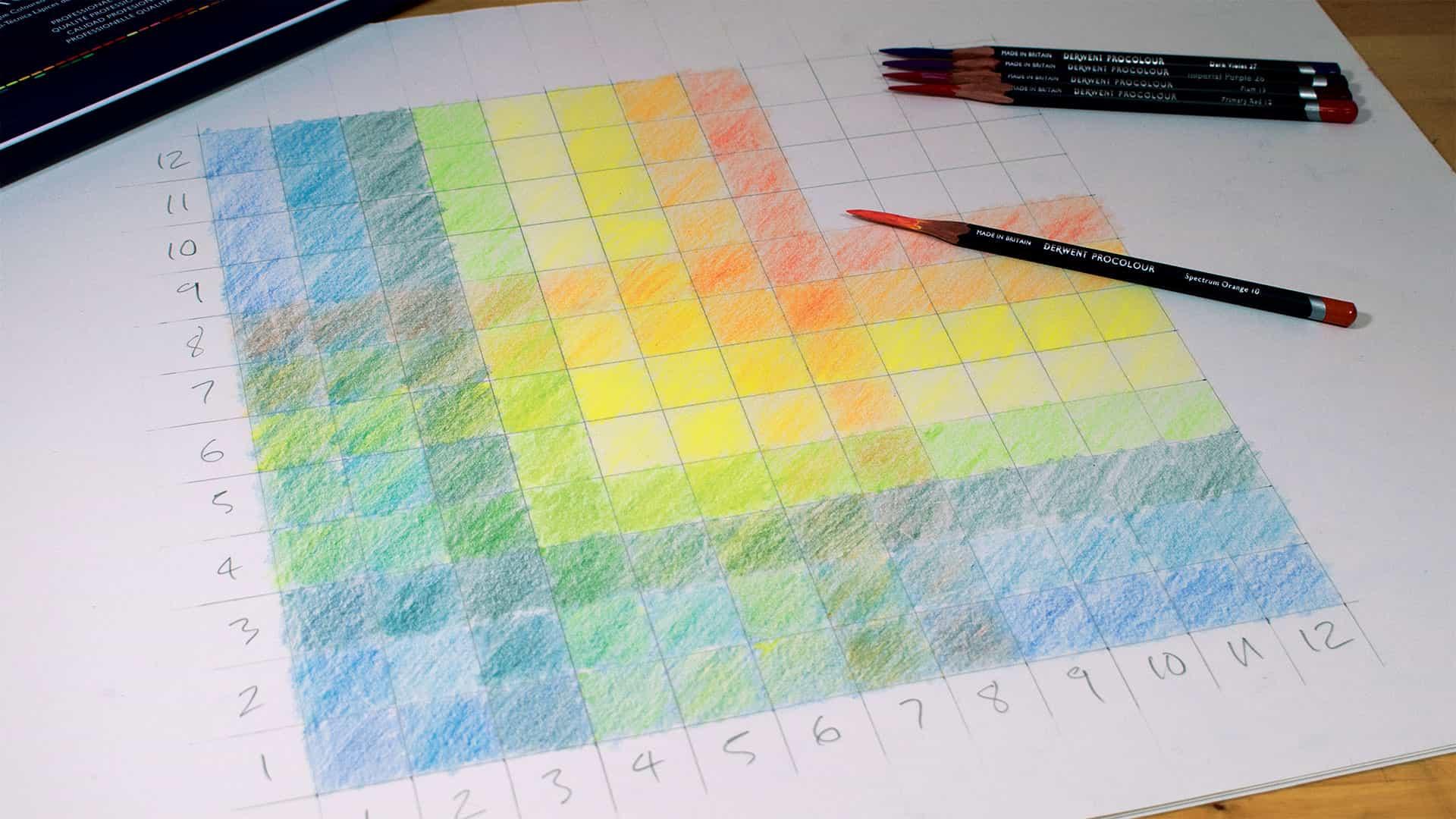 Cómo crear una carta de colores