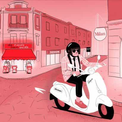 Dezeen anuncia planes para la guía digital para Milán semana del diseño 2020
