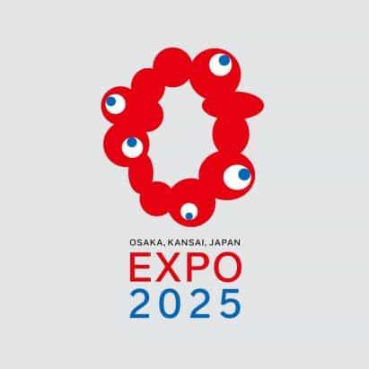 Expo 2025 logotipo de Osaka revela como anillo de manchas rojas