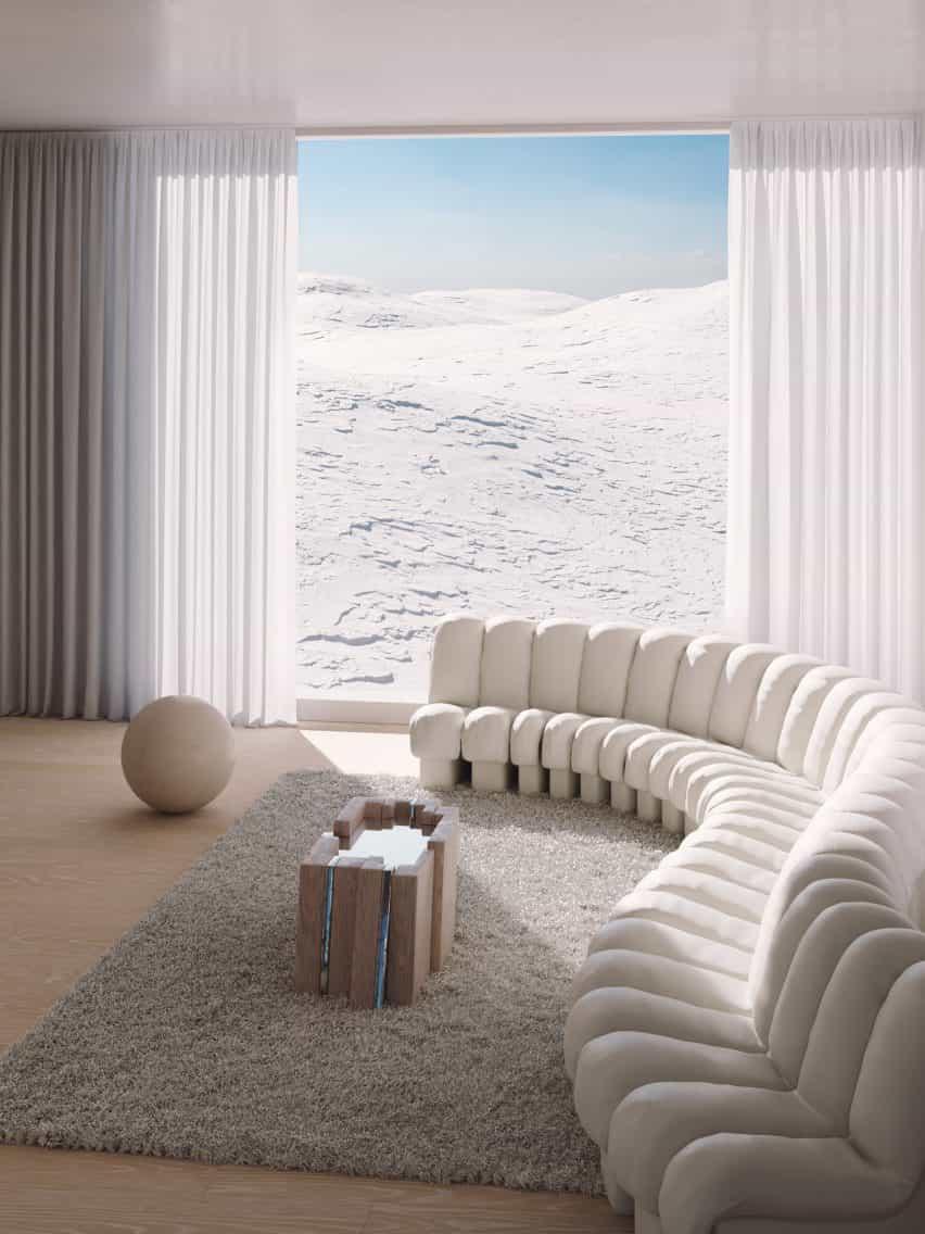 Bajo el paraguas de la VDF x colaboración Sight Unseen, diseñador Simon Johns está presentando una colección de muebles y artículos para el hogar desde su estudio en las montañas Apalaches, que refleja la importancia única de su entorno.