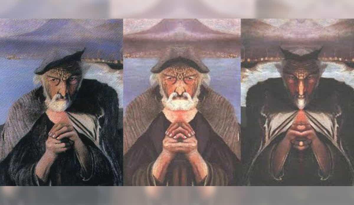 Esta pintura tiene un secreto impactante y siniestro