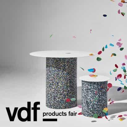 DesignByThem presenta tres colecciones de muebles en VDF productos justo
