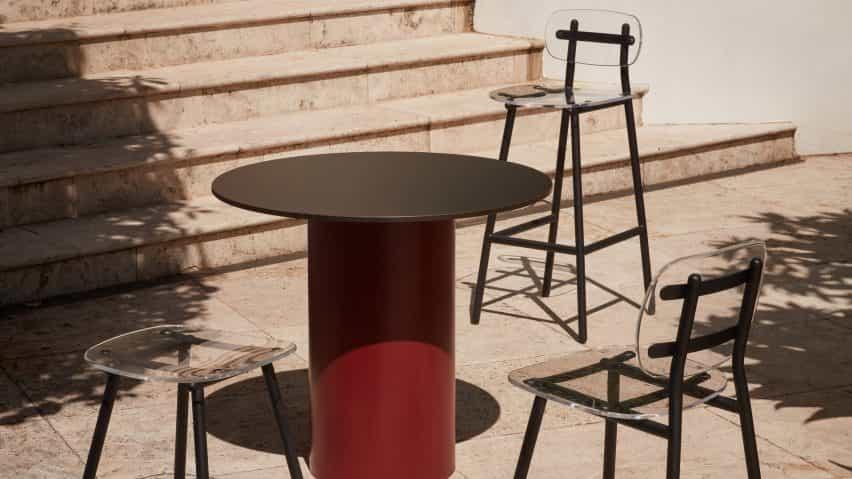 Fenster colección de asientos por Gibson Karlo para DesignByThem