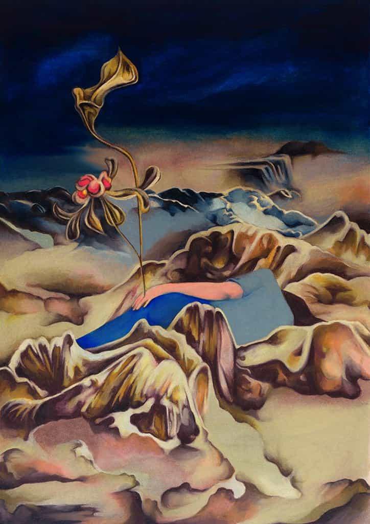 Surrealismo, Bjork y alcohol fieltros chocan en las ilustraciones de ensueño de Jimy De Haese