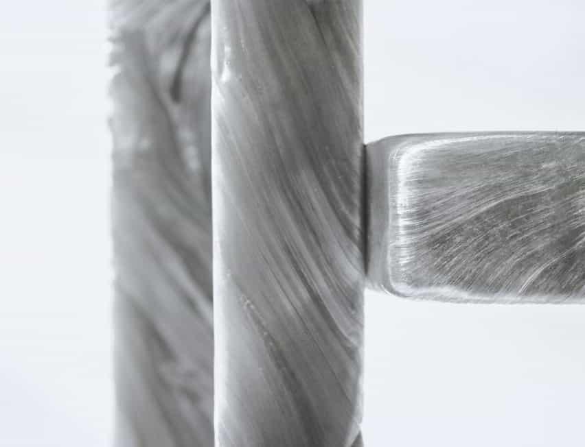 Plasticiet estira como chicle plástico reciclado para la madre de la perla de los muebles