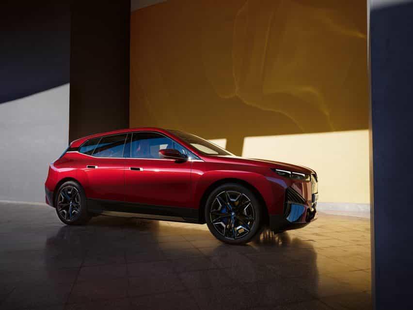 El próximo modelo iX totalmente eléctrico de BMW