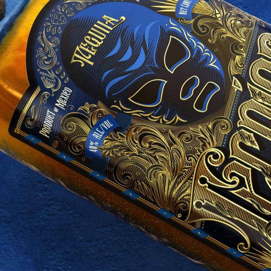 Rediseño de las etiquetas de tequila Rudo y Tecnico