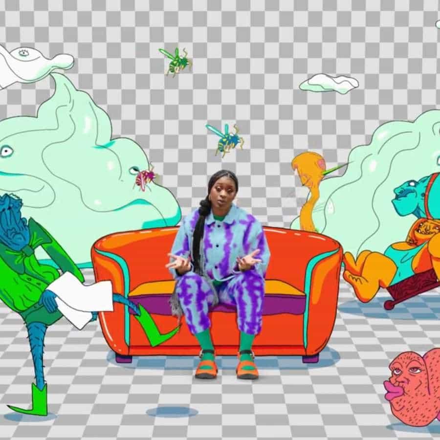 """Hoy, Adobe lanza un libro para colorear gratuito, denominado 'W is for Whack', en colaboración con el artista Tierra Whack para imprimir en casa o colorear digitalmente dentro de sus aplicaciones favoritas de Creative Cloud. Tierra Whack se trata de salir de su zona de confort para encontrar su inspiración creativa, y el libro para colorear está lleno de personajes extraños y """"extravagantes"""" que cualquiera puede colorear de formas divertidas y únicas."""
