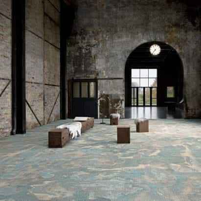 Suelo textil Terra de Adrian Alexander para Talk Carpet