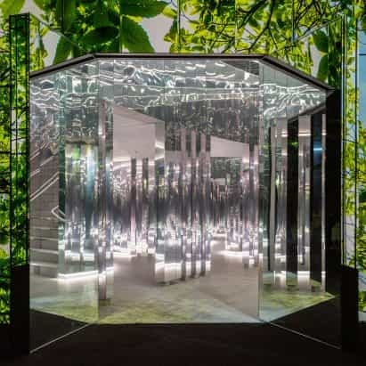 Superblue Miami abre con instalación es devlin es espejada