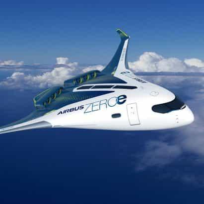Airbus presenta el concepto de primer avión comercial de cero emisiones del mundo