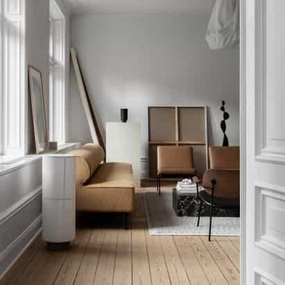 instalación de la residencia del Escultor permite que paso dentro de la casa de un artesano