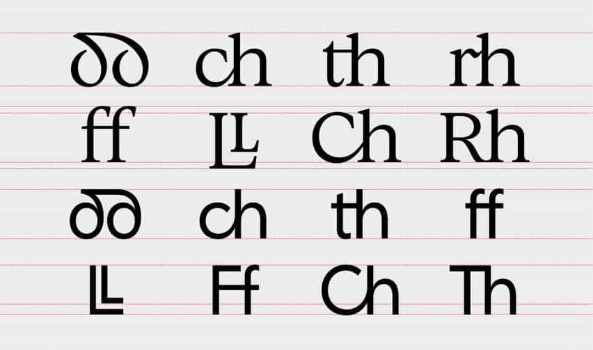 Smörgåsbord diseña primer tipo de letra digital para la lengua galesa