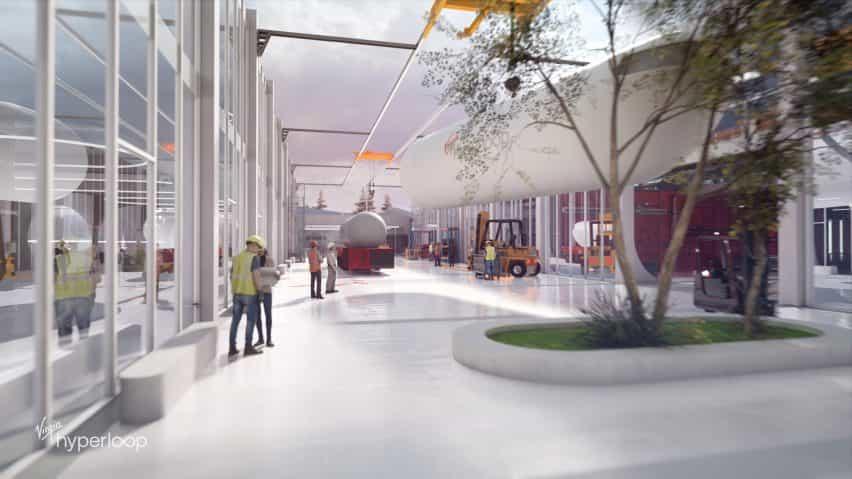 Centro de diseño grande Virgen Hyperloop Certificación de Virginia Occidental