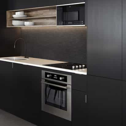 KOVA introduce colección compacto aparato para cocinas pequeñas