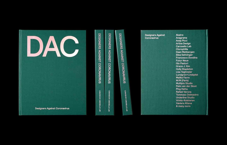 El libro Designers Against Coronavirus une a Malika Favre, M / M Paris, Akatre y más en la interpretación de la crisis