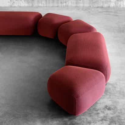 Colección de asientos Botera de E-ggs para Miniformas
