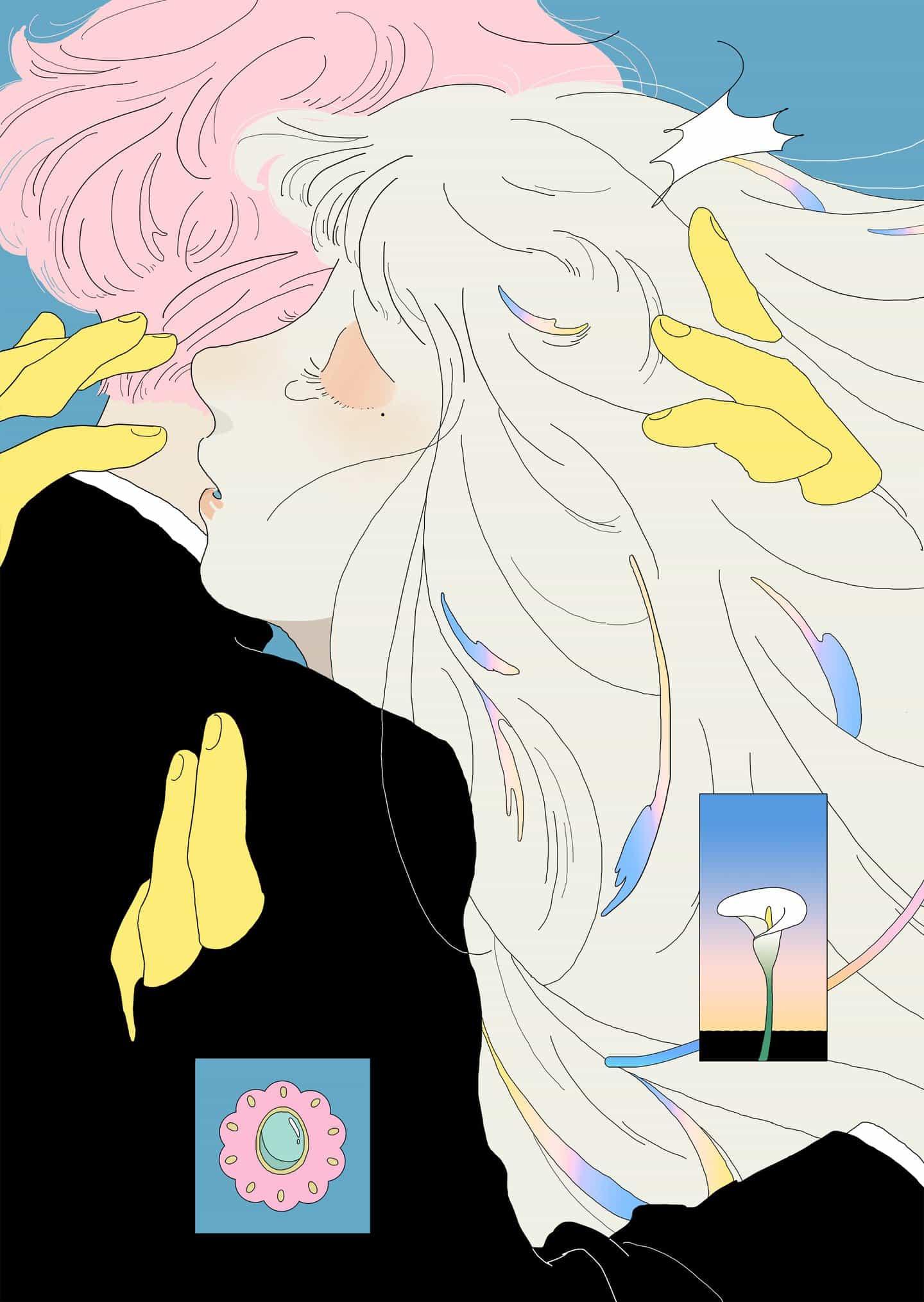 Animado, diseño gráfico y múltiples narrativas chocan en Taipei basado en el trabajo ilustrador Saitemiss'