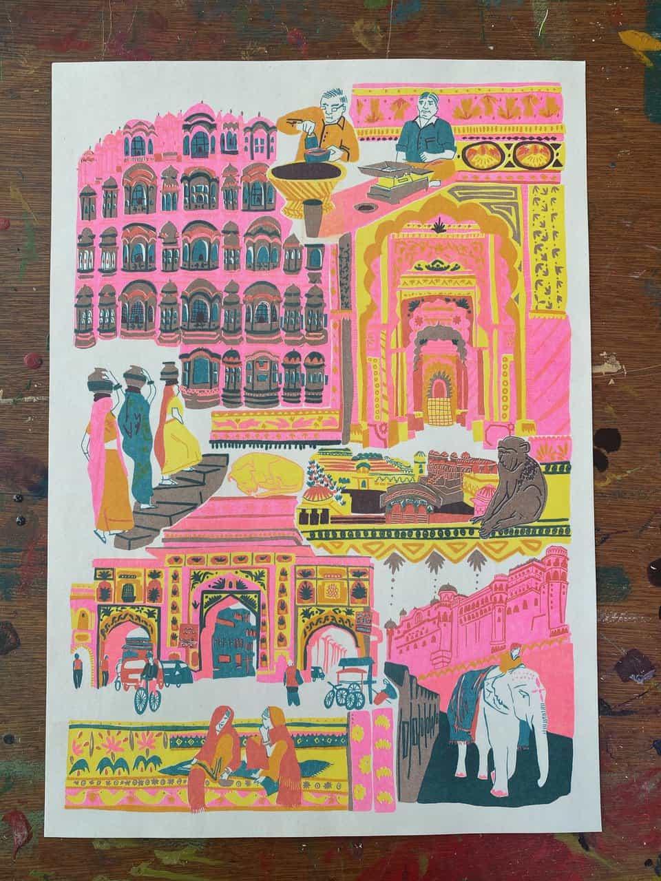 East End Press: Impresiones de la India (Copyright © East End Press, 2021)