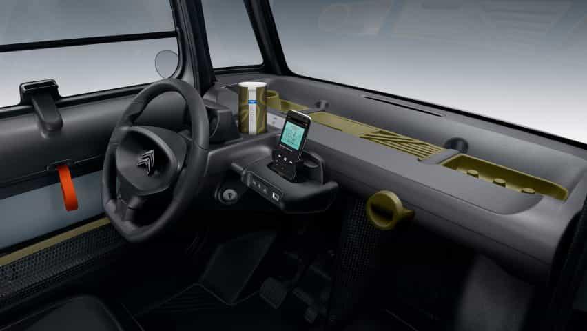 """Citroën rollos fuera accesible a todos los coches que Ami obras """"al igual que un teléfono inteligente"""""""
