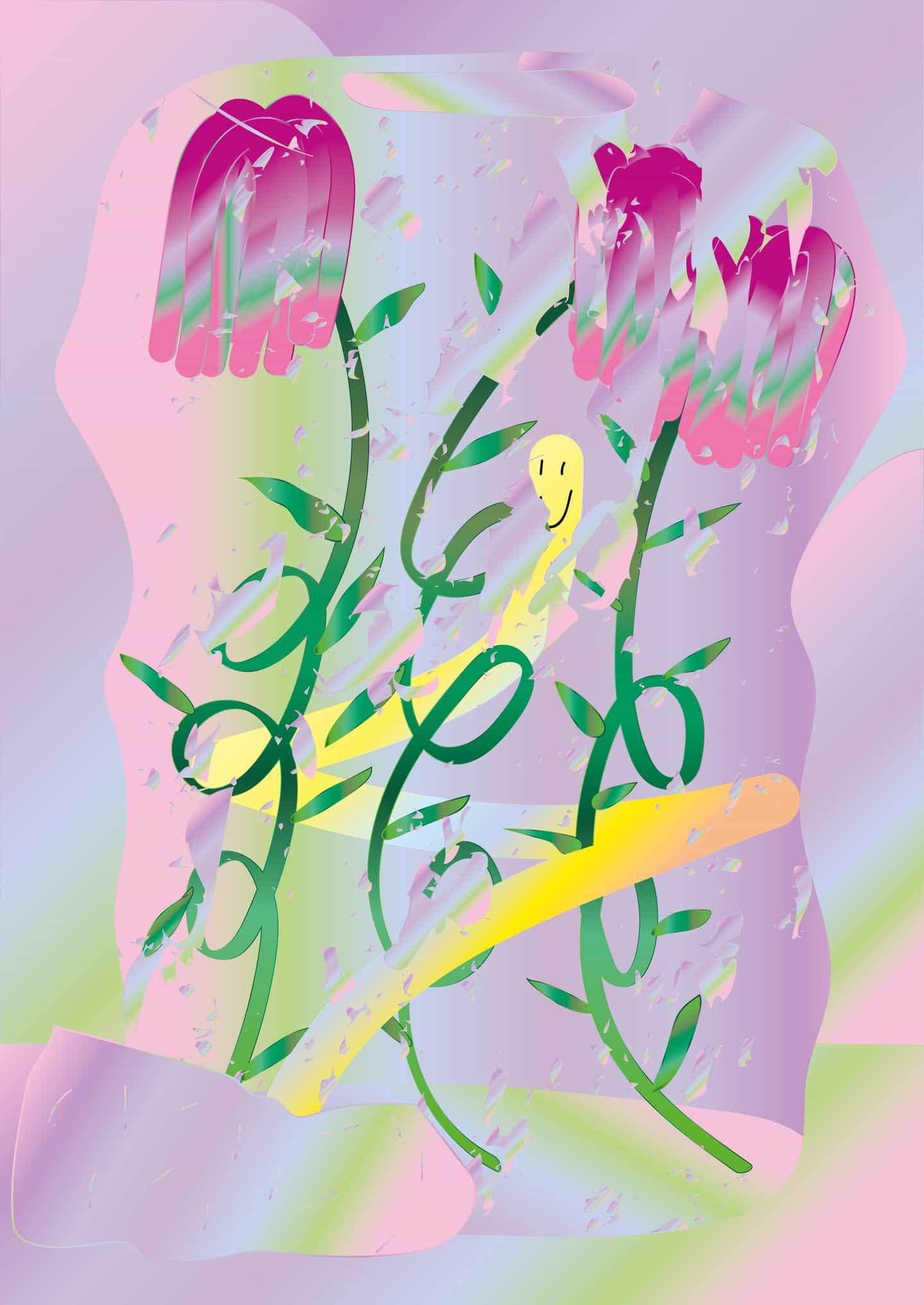 Oriane Jeanselme en abrazar ilustración después de perder interés en el diseño gráfico