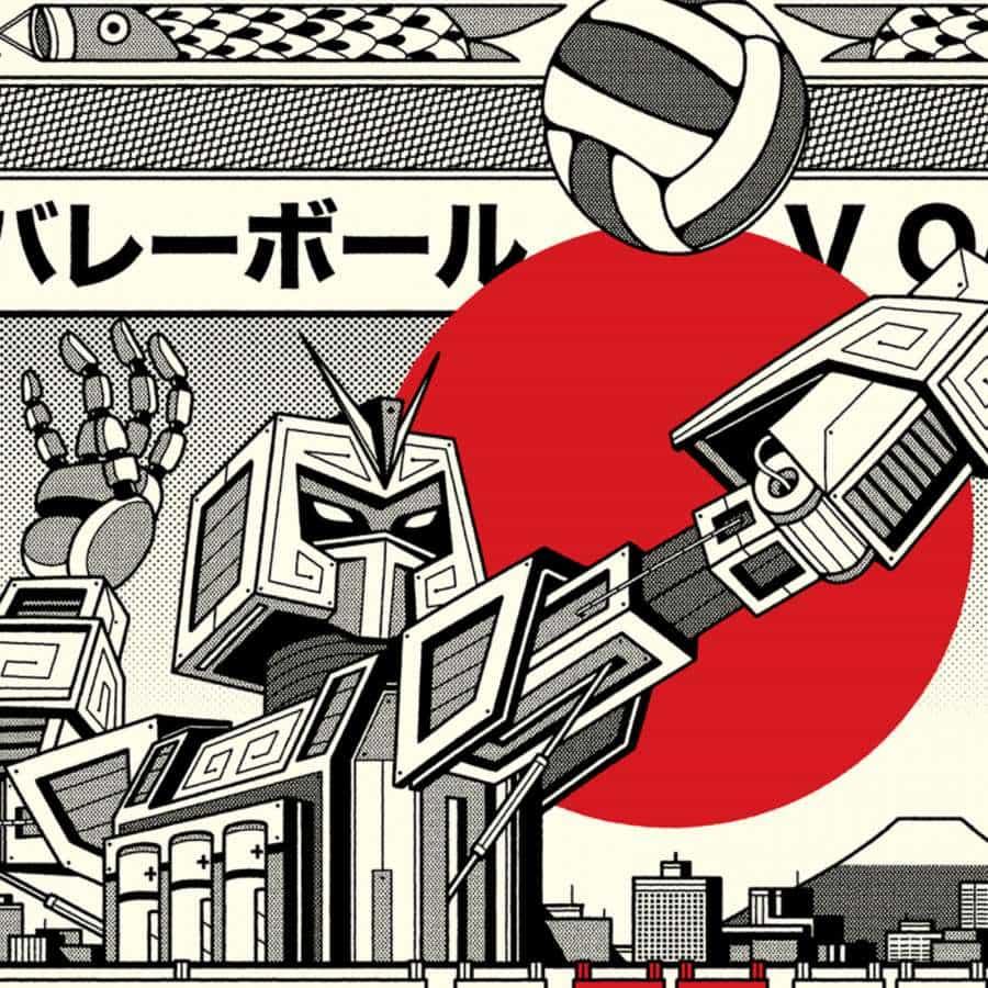 BandSports Tokio 2020 Ilustraciones