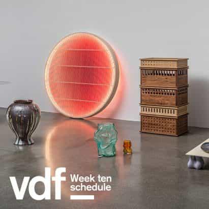 Stellar Works, Mariam Kamara, Lee Broom, Winy Maas y función de lo que el diseño puede hacer en el VDF esta semana