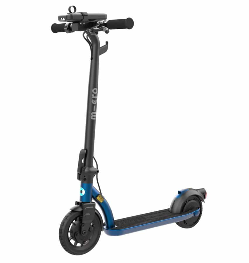Micro presenta Microlino coche eléctrico de la burbuja y de tres ruedas e-scooter