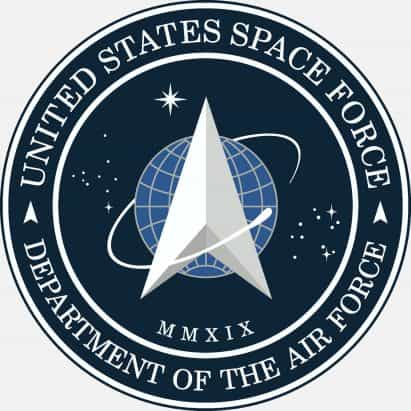 Trump da a conocer el logotipo de división para la nueva rama militar de la Fuerza Espacial