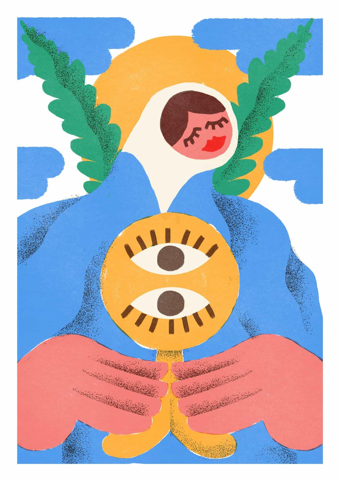 Las ilustraciones de Mantraste se basan en la cultura de su infancia en el Portugal rural