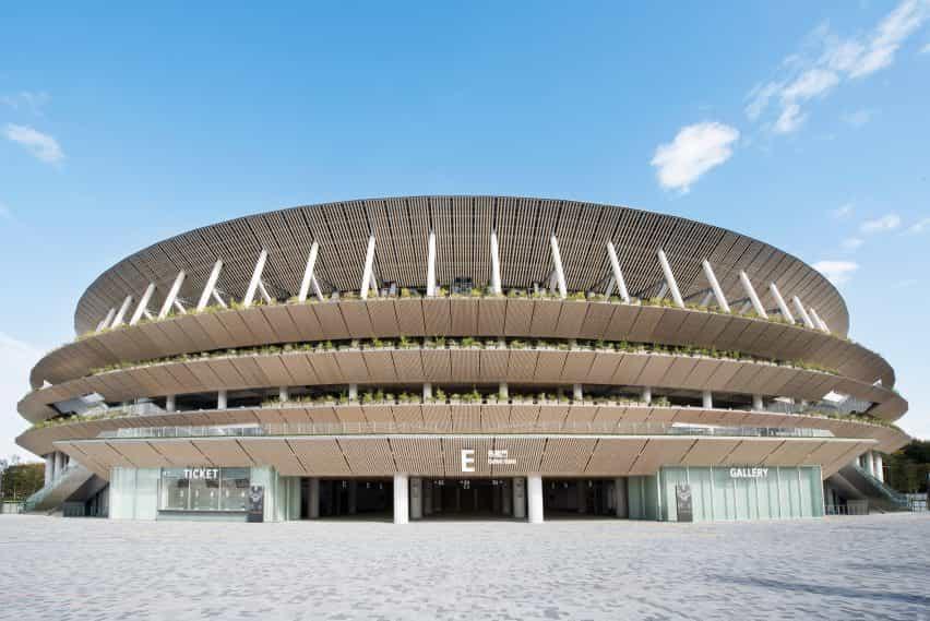 Estadio Olímpico de Tokio 2020 de Kengo Kuma
