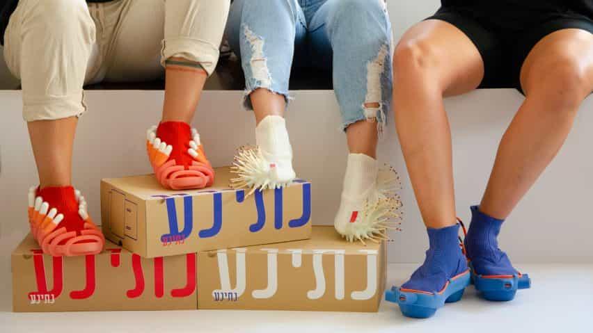 Netina zapatos de Netha Goldberg cuentan con accesorios para tampones y partidos
