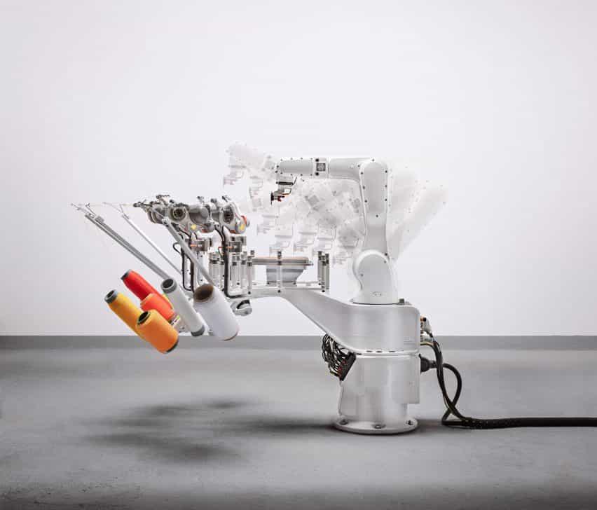 Kram / Weisshaar robot a Mauer parte superior Strung
