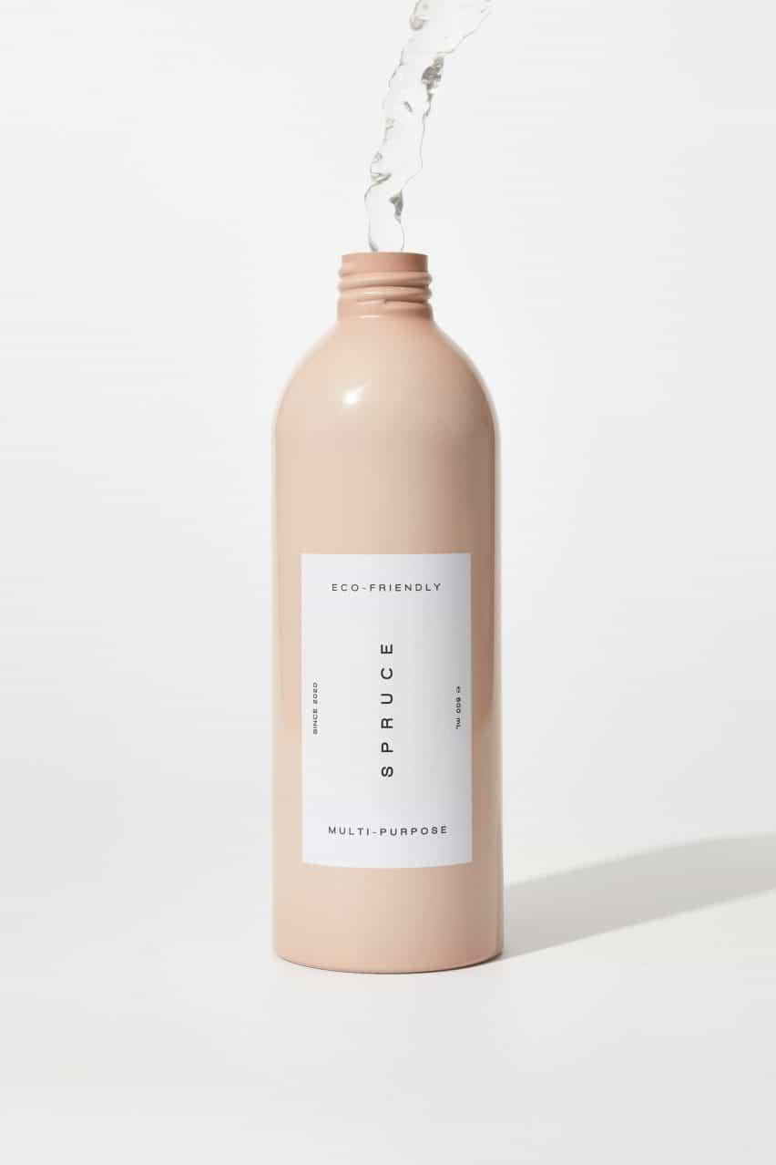 botella recargable de aluminio Spruce