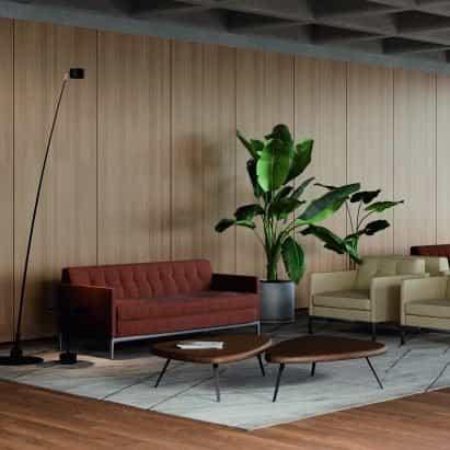Sofá Volage EX-S Slim de Philippe Starck para Cassina