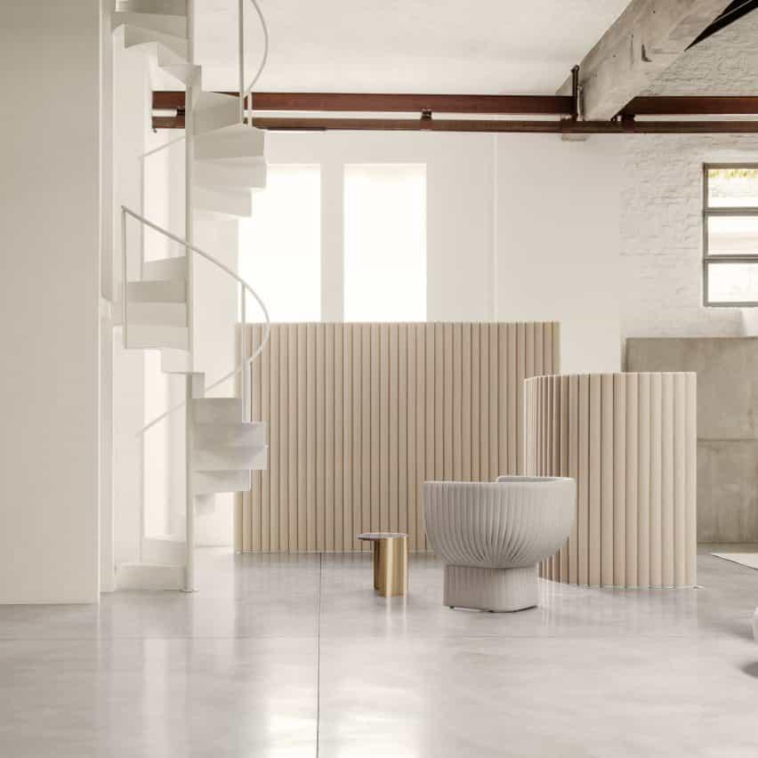 Monforte habitación divisor por Raffaella Mangiarotti para la COI
