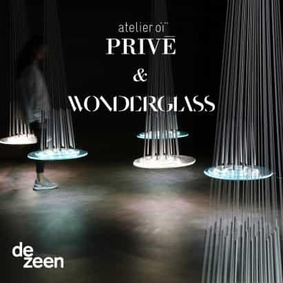 Atelier Oï previsualiza la próxima colección de vidrio en Dezeen en una charla en vivo y una visita guiada