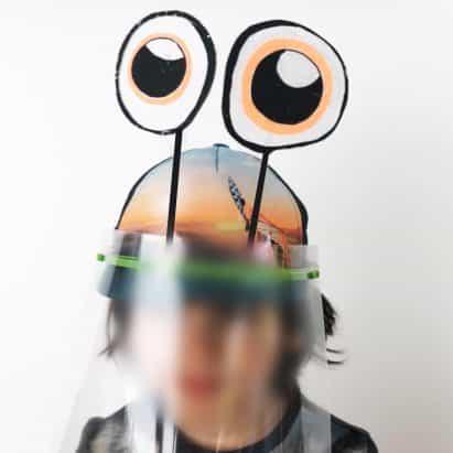 Metaform Arquitectos crea caretas personalizables para los niños