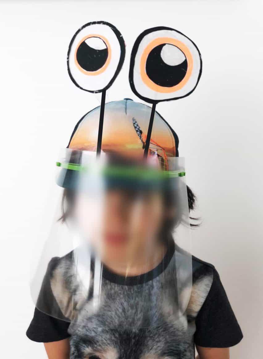 careta de protección de los niños por los arquitectos Metaform