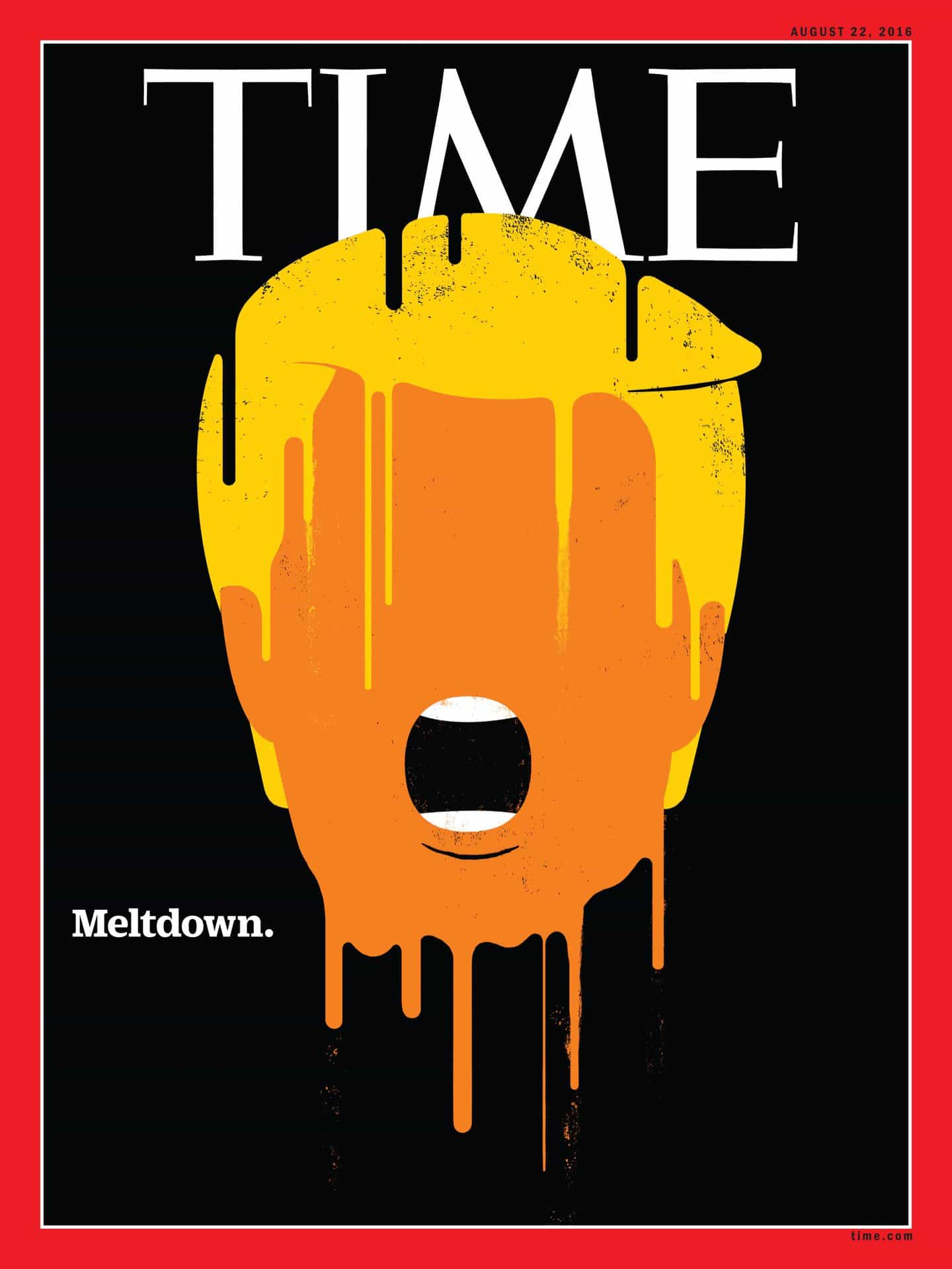 Edel Rodríguez: Imagen de la cubierta para la revista Time (Copyright © Edel Rodriguez, 2020)