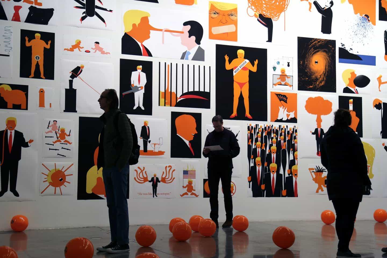 Edel Rodriguez: Exposición (Copyright © Edel Rodriguez, 2020)