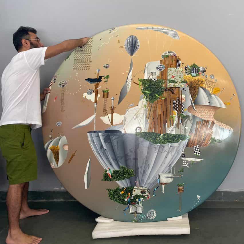 Dominus Aeries Pinturas por Thukral & Tagra