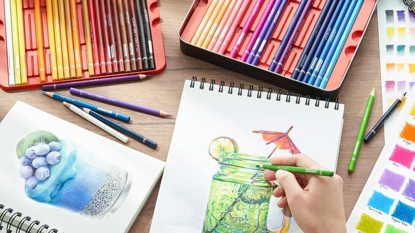 Los mejores lápices de colores en 2021 para todos los presupuestos