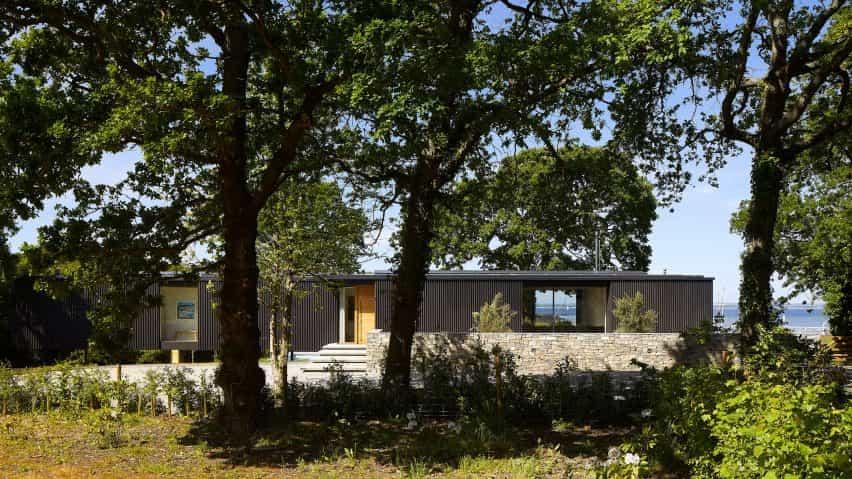 casa de vacaciones Isla Resto en Isle of Wight diseñado por los arquitectos Ström