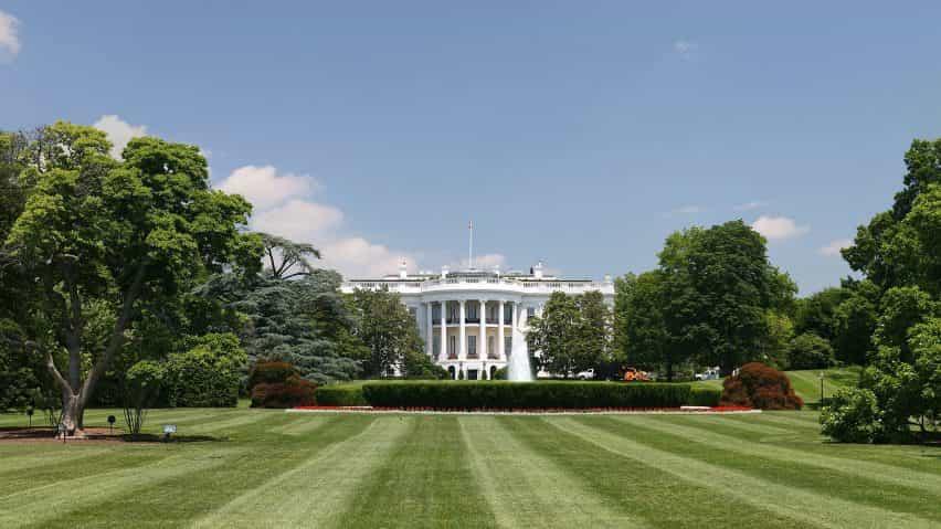 Casa Blanca Rose Garden actualización por Melania Trump