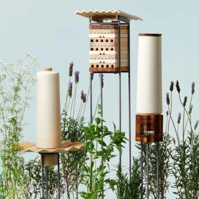 refugios siete para las abejas que viven en ciudades