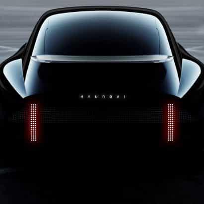 """Hyundai presenta el concepto de vehículo eléctrico que se ve como una """"piedra resistido perfectamente"""""""